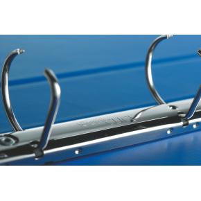 Leitz SoftClick Indstiksringbind A4+, 51 mm, blå