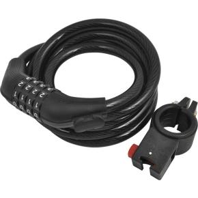 Rawlink spirallås m/ kode, blå