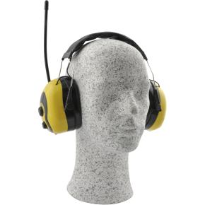 Rawlink høreværn, fm radio, gul