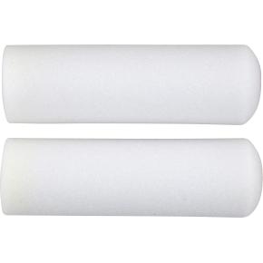 Malerrulle skum, 10 cm, hvid, 2 stk.