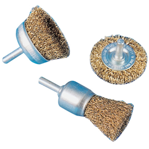 Rawlink stålbørstesæt t/ boremaskine, 3 dele