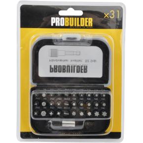 Probuilder bitssortiment, 31 dele