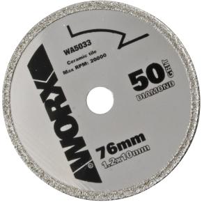 Worx rundsavsklinge, 76 mm, diamant