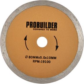 Probuilder diamantklinge, 76x1,1x10 mm