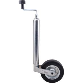 Rawlink støttehjul, fastgummi