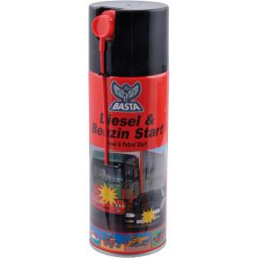 Basta diesel/benzin start, 355 ml