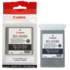 Canon BCI-1431BK blækpatron, sort, 130ml