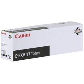 Canon C-EXV 17 lasertoner, gul, 30000s