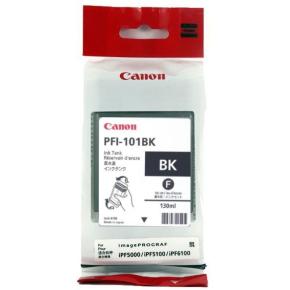 Canon PFI-101BK blækpatron, sort, 130ml