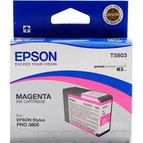 Epson C13T580300 blækpatron, rød, 80ml