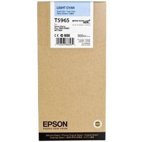 Epson C13T596500 blækpatron, lys blå, 350ml