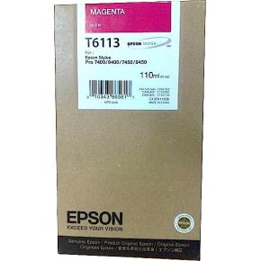 Epson C13T611300 blækpatron, rød, 110ml