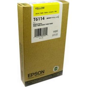 Epson C13T611400 blækpatron, gul, 110ml