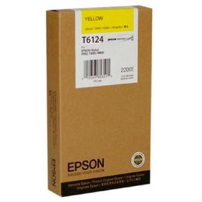 Epson C13T612400 blækpatron, gul, 220ml