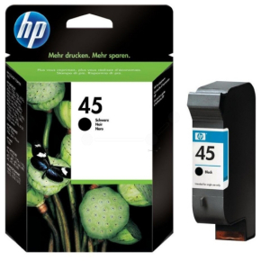 HP 45/51645AE blækpatron, sort, 930s