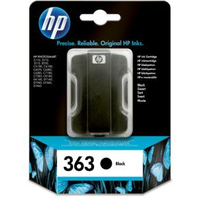 HP 363/C8721EE blækpatron, sort, 410s