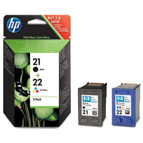 HP 21/22/SD367AE blækpatron, sampak