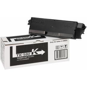 Kyocera TK-580K lasertoner, sort, 3500s