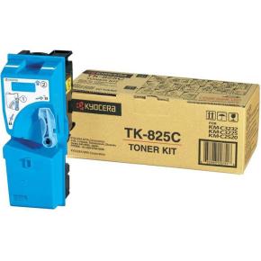 Kyocera TK-825C lasertoner, blå, 7000s