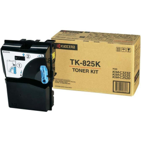 Kyocera TK-825B lasertoner, 4000s, sort
