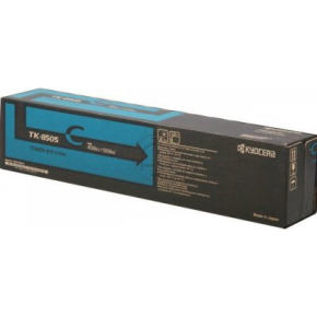 Kyocera TK-8505C lasertoner, blå, 20000s