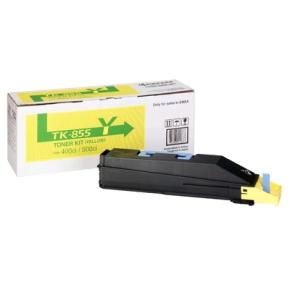 Kyocera TK-855Y lasertoner, gul, 18000s