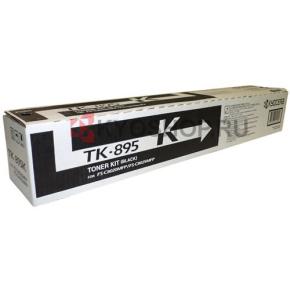 Kyocera TK-895K lasertoner, sort, 12000s