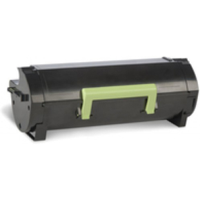Lexmark 50F2U0E lasertoner, sort, 20000s