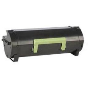 Lexmark 50F2X0E HC lasertoner, sort, 10000s