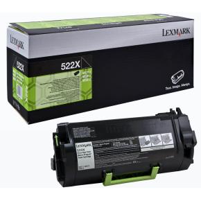 Lexmark 52D2X00 lasertoner, sort, 45000s