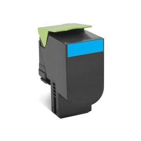 Lexmark 80C2XC0 lasertoner, blå, 4000s