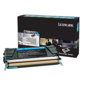 Lexmark C748H3CG lasertoner, blå, 10000s