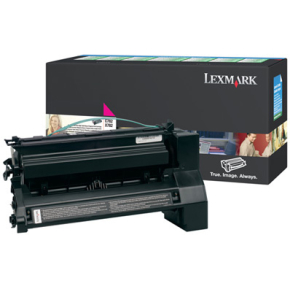 Lexmark C782X1MG lasertoner, rød, 15000s