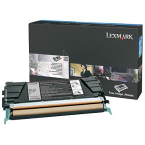Lexmark E460X31E lasertoner, sort, 15000s
