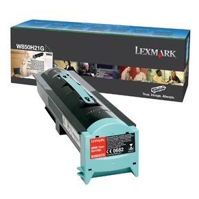 Lexmark W850H21G lasertoner, sort, 35000s