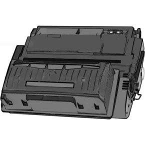 Xerox 39A/003R99615 lasertoner, sort, 19800s