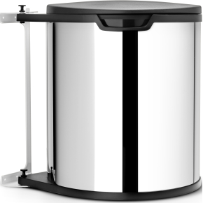 Brabantia Built-in Bin affaldsspand 15L, stål