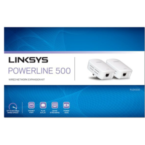 Linksys PLEK500 Powerline Homeplug AV2