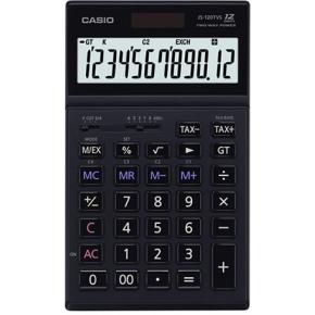 Casio JS-120TVS bordregner, sort