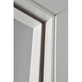 Selvklæbende tætningssliste, D-form, brun, 6 m