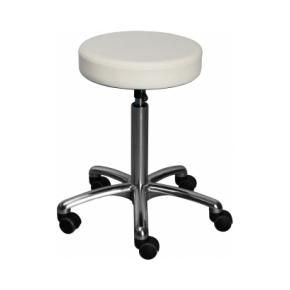 CL Beta stol, hvid, kunstlæder, 360/40 mm