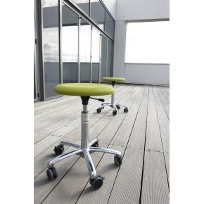 CL Beta stol, rød, stof, 360/40 mm