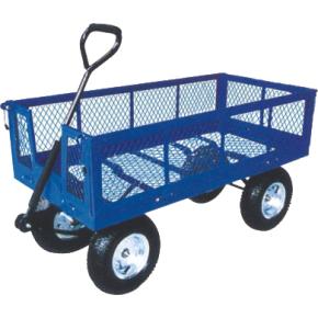 Trækvogn 320 kg, Luftgummihjul, 138,2x61,5x114 cm