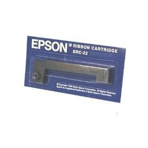 Epson ERC-22B farvebånd, sort