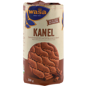 Wasa Runda Kanel Knækbrød, 330 g
