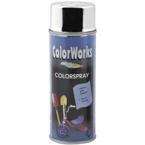 """ColorWorks hobbyspray, """"chrome"""""""