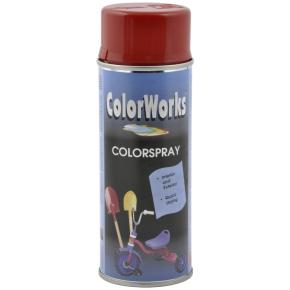 ColorWorks hobbyspray, karminrød