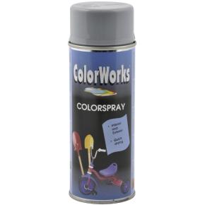 ColorWorks hobbyspray, sølvgrå