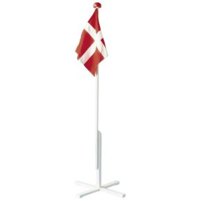 Flagstang m. flag, 150 cm