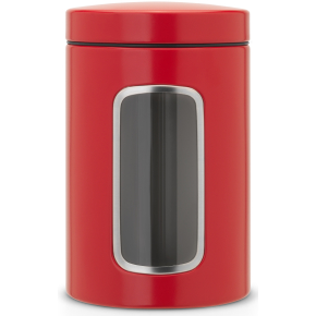 Brabantia Opbevaringsdåse 1,4L, passion red